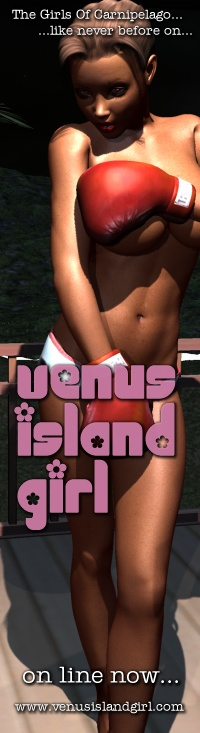 Venus Island Girl - Pinup Girls Of The Lost Islands.